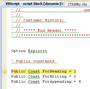 Debugging VBScript and JScript in vbs, js, wsf and hta files